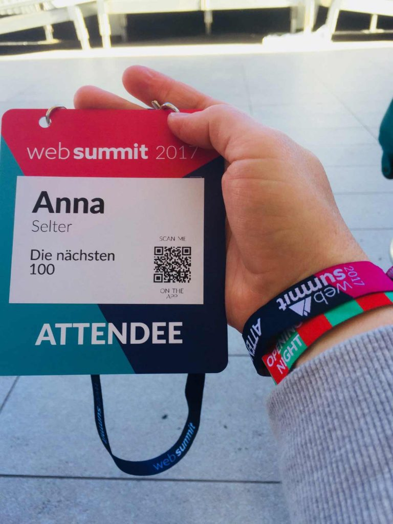 WebSummit Registration