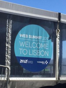 WebSummit in Lisbon 2017