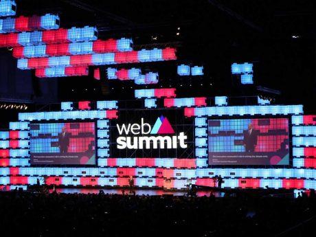 WebSummit Al Gore on Stage