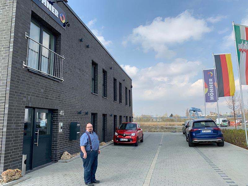 Das neue Gebäude der Höhner GmbH