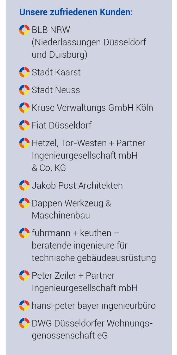 Zufriedene Kunden der Firma Höhner