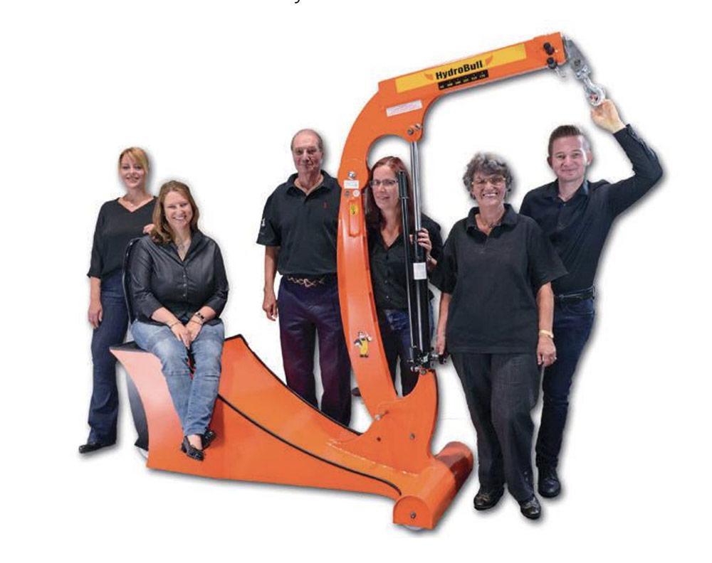 Das Team der Siegfried Frenzen GmbH
