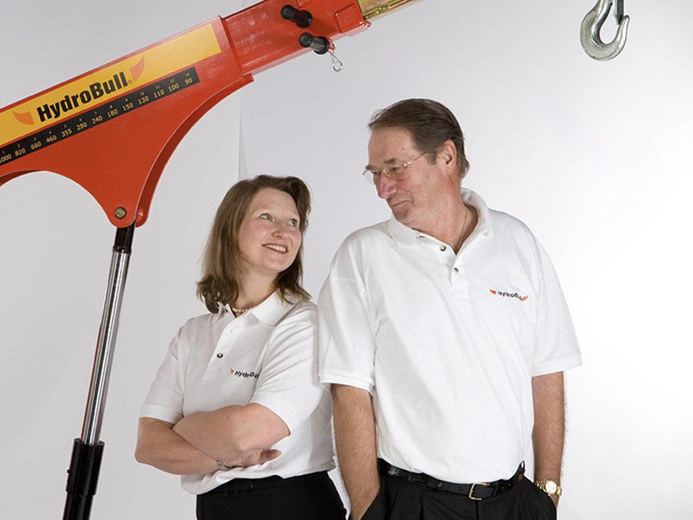 Susanne Münch und ihr Vater